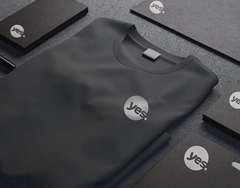 חולצות טריקו לחברת YES