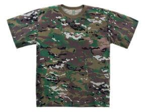 חולצת צבאית צבעונית