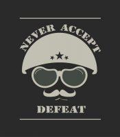 חולצת צבא עם הדפס מיוחד