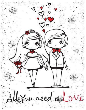 הדפס לחתונה חתן כלה בהתאמה אישית
