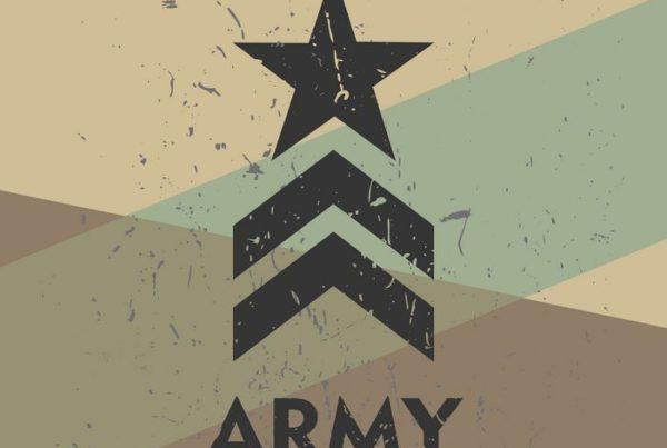 הדפס של דרגה צבאית